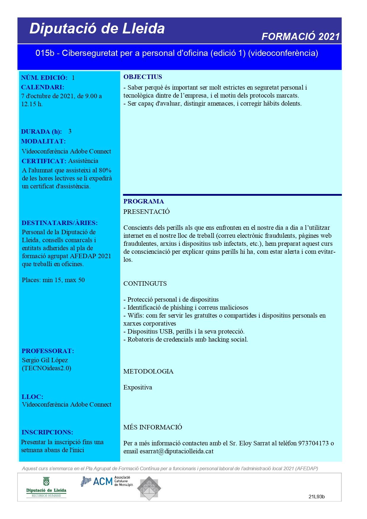 0000.01.012 - Ciberseguretat per a personal d'oficina